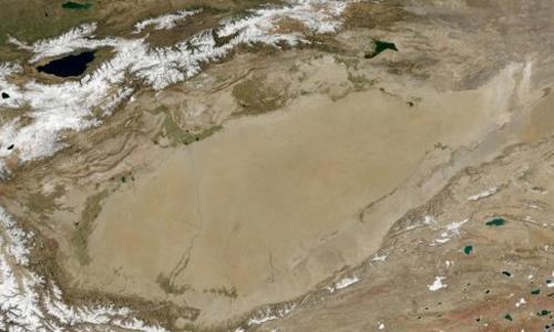 Đại dương ngầm khổng lồ dưới lòng sa mạc Tân Cương
