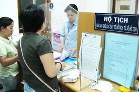 Đề xuất một số quy định cụ thể về hộ tịch