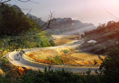 Cảnh đẹp lay động lòng người ở Cao Bằng