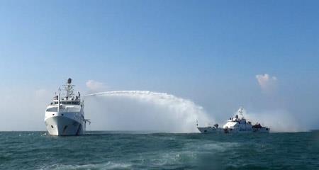Xem Cảnh sát biển Việt - Ấn huấn luyện chung