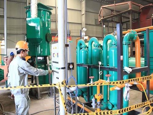 Việt Nam nghiên cứu thành công máy tạo ra điện từ rác