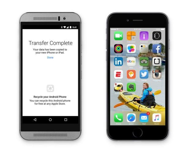 Apple ra mắt tính năng hút người dùng Android chuyển sang iOS