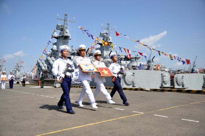 Vùng 2 Hải quân: Đưa vào sử dụng 2 tàu tên lửa hiện đại