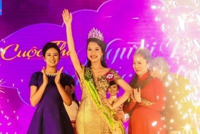 Lê Trần Ngọc Trân đoạt danh hiệu Hoa khôi Người đẹp du lịch Huế