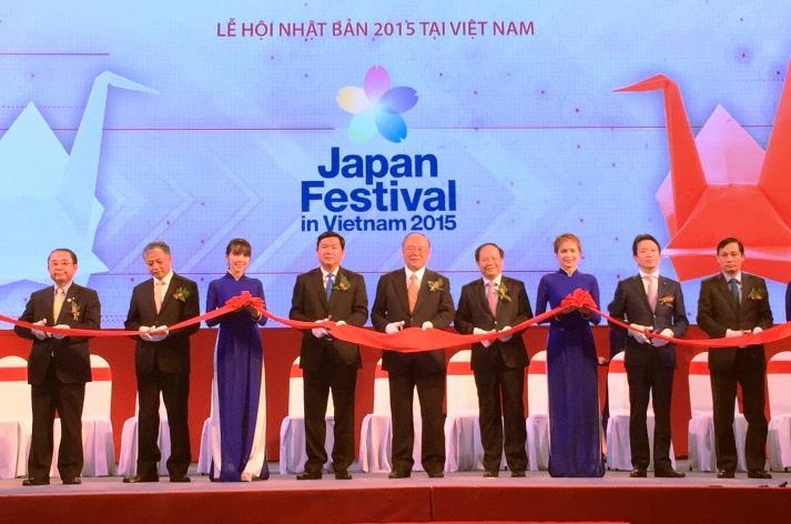 Khai mạc Lễ hội Nhật Bản tại Việt Nam