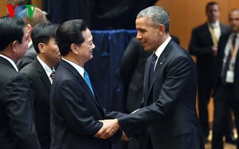 Ông Obama: Hoa Kỳ ủng hộ lập trường của Việt Nam về vấn đề Biển Đông