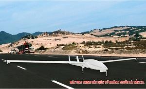 Việt Nam chế tạo thành công máy bay trinh sát không người lái tầm xa