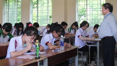 Phương án thi THPT quốc gia 2016: Địa phương vẫn muốn 2 loại cụm thi