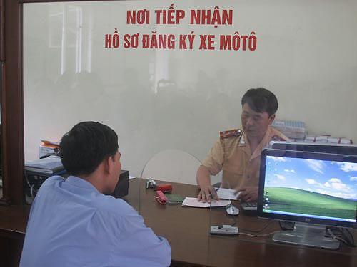 Thủ tục mới trong đăng ký, quản lý ô tô, xe máy