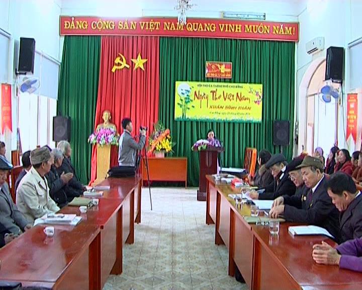 Thành phố: Tổ chức kỷ niệm Ngày thơ Việt Nam lần thứ XIV