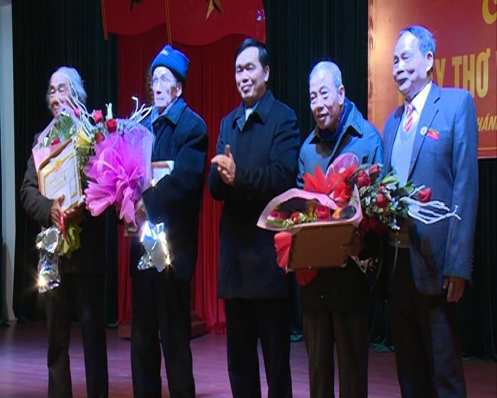 Hội Thơ Đường luật tỉnh: Kỷ niệm ngày thơ Việt Nam lần thứ XIV
