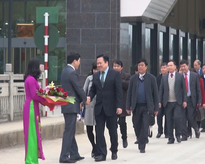 Bí thư Tỉnh ủy Nguyễn Hoàng Anh thăm và hội đàm đầu xuân tại tỉnh Quảng Tây - Trung Quốc
