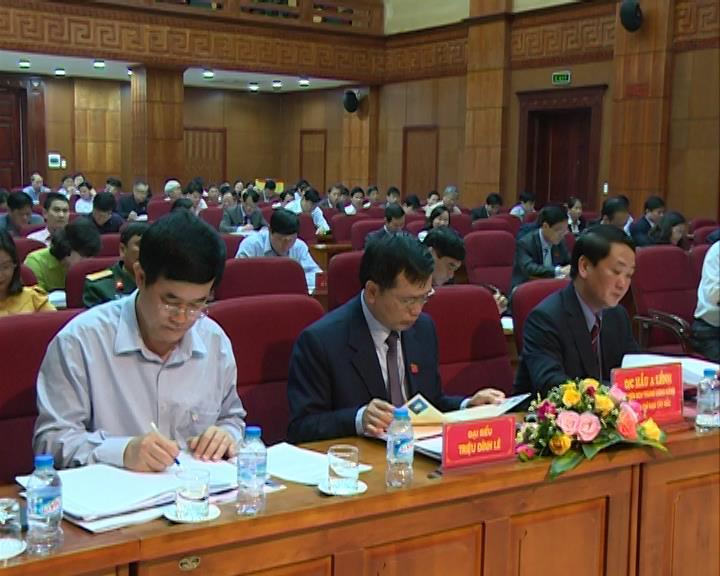 Cao Bằng tổ chức Kỳ họp thứ 16 Hội đồng nhân dân tỉnh khóa XV nhiệm kỳ 2011- 2016