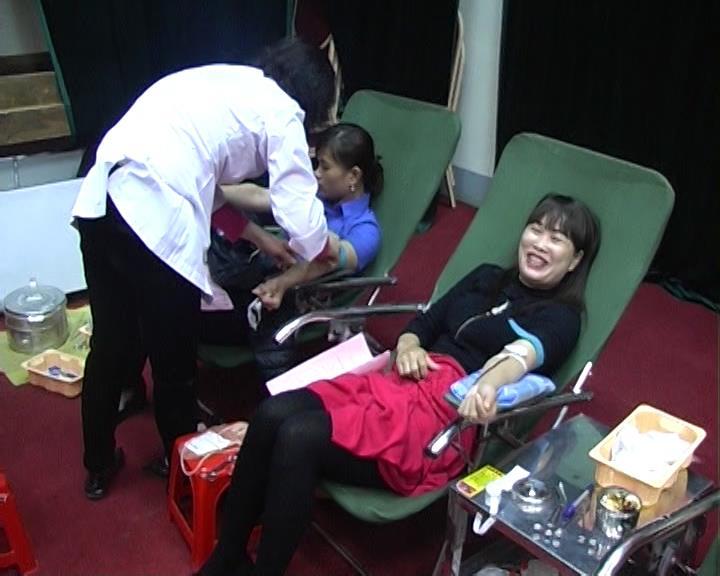 Thạch An: Tiếp nhận 150 đơn vị máu trong ngày hội hiến máu tình nguyện