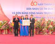 Trường THPT Thành Phố Cao Bằng: Kỷ niệm 60 năm ngày thành lập