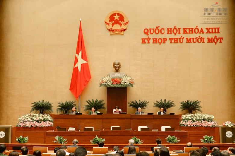 Bế mạc kỳ họp thứ 11, Quốc hội khóa XIII