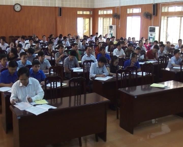 Phục Hòa: Tập huấn nghiệp vụ công tác bầu cử