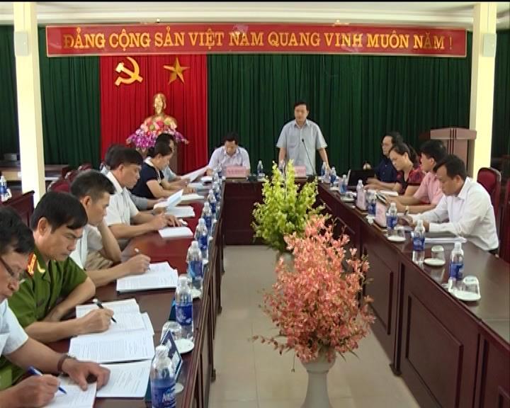 Phó Bí thư Thường trực Tỉnh ủy làm việc tại huyện Thông Nông