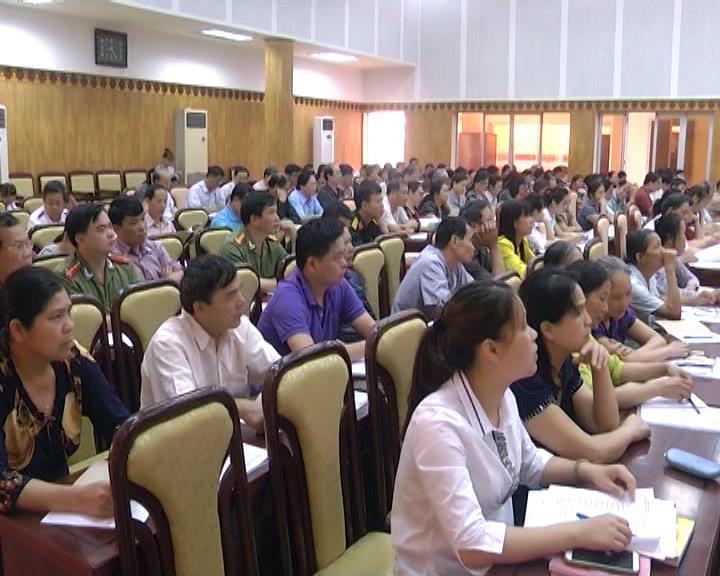 Thành phố: Tập huấn nghiêp vụ công tác bầu cử lần thứ 2