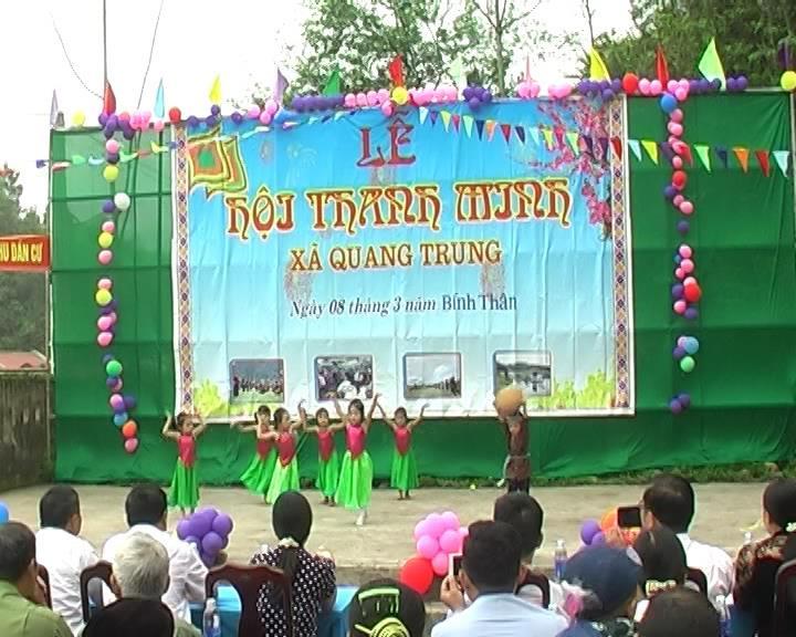 Trà Lĩnh: Lễ hội Thanh minh xã Quang Trung