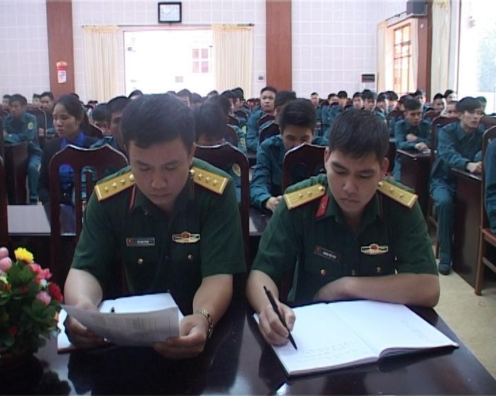 Thạch An, Hà Quảng: Khai mạc huấn luyện dân quân tự vệ năm thứ nhất