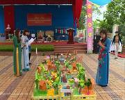Hội thi triển lãm đồ dùng, đồ chơi tự làm bậc học mầm non năm học 2015 - 2016