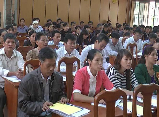 Hà Quảng: Tập huấn nghiệp vụ công tác bầu cử