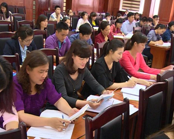 Đảng ủy Khối CCQ tỉnh: Bồi dưỡng nhận thức về Đảng cho 86 quần chúng ưu tú