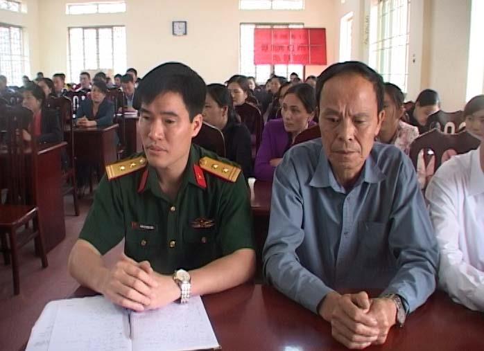 Hà Quảng: Bế giảng lớp bồi dưỡng lý luận chính trị