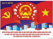 Hướng dẫn trang trí cho cuộc Bầu cử đại biểu Quốc hội khóa XIV
