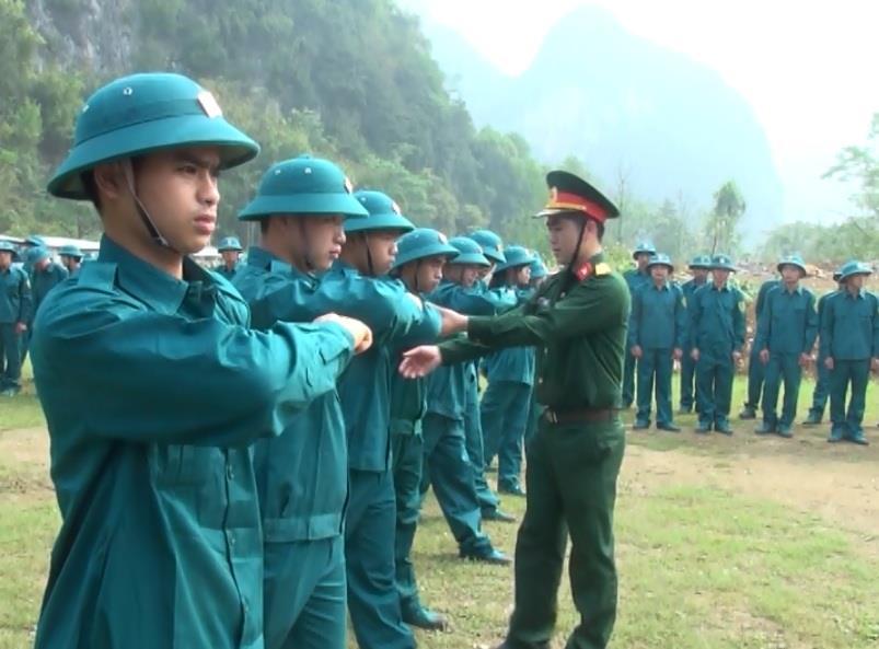 Quảng Uyên: Huấn luyện năm thứ nhất cho 105 dân quân tự vệ