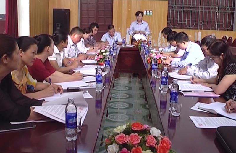 UBND thành phố kiểm tra công tác chuẩn bị bầu cử tại phường Đề Thám