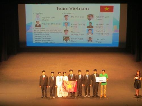 Việt Nam đạt 8 giải Olympic Vật lý châu Á 2016