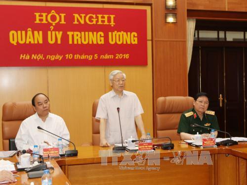 Bộ Chính trị chỉ định Quân ủy Trung ương, Thường vụ Quân ủy Trung ương