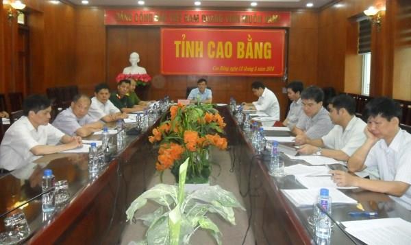 Hội nghị trực tuyến tổng kết công tác phòng chống thiên tai