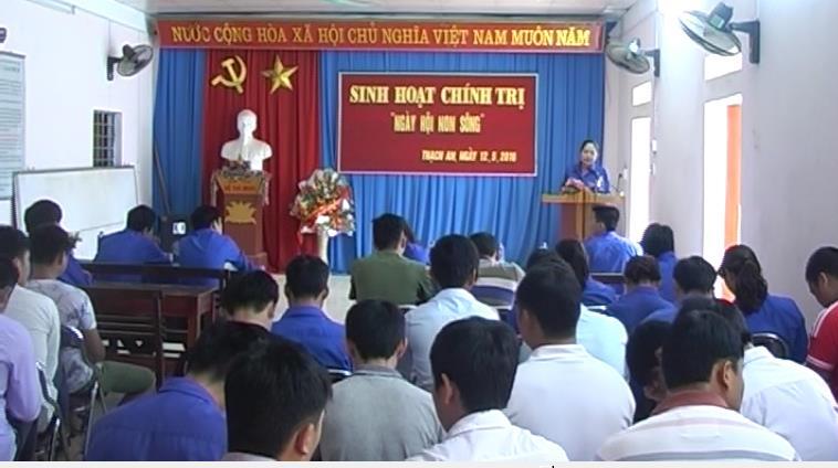 Thạch An: Đoàn thanh niên tăng cường tuyên truyền về cuộc bầu cử