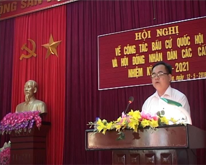 Hà Quảng: Tập huấn công tác bầu cử