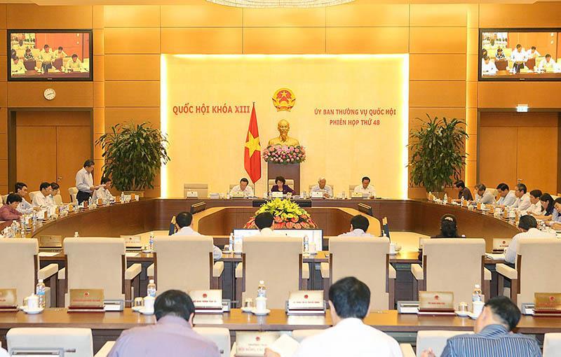 Ủy ban Thường vụ Quốc hội thông qua 2 dự thảo Nghị quyết