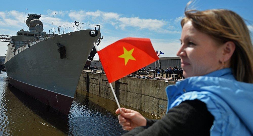 Nga hạ thủy chiến hạm Báo đốm đóng cho Việt Nam