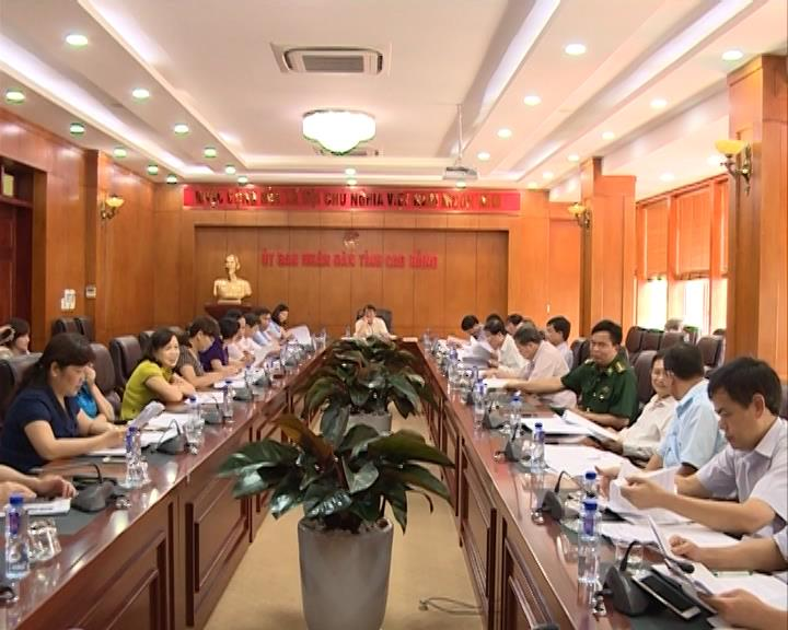 Ủy ban Bầu cử tỉnh: Thông qua kết quả bầu cử đại biểu Quốc hội khóa XIV và đại biểu HĐND các cấp nhiệm kỳ 2016-2021