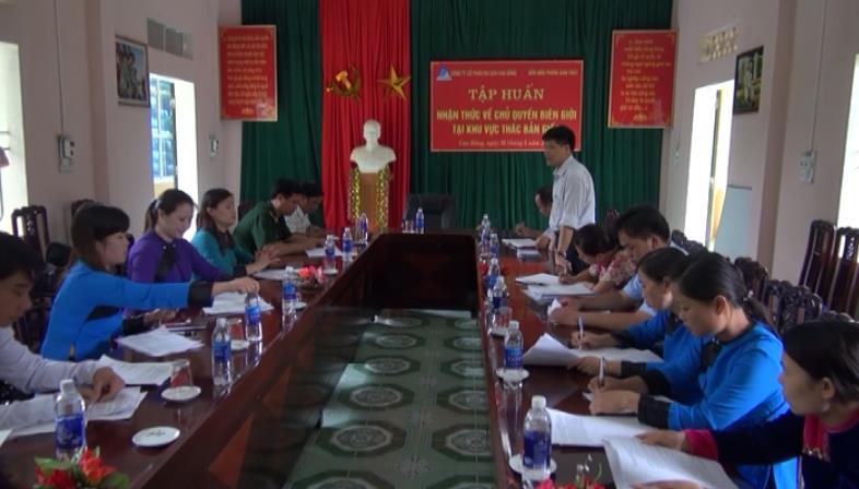 Trùng Khánh: Tập huấn về chủ quyền biên giới cho hướng dẫn viên du lịch