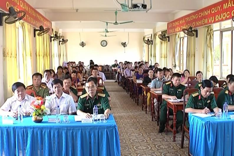 Khai giảng lớp bồi dưỡng kiến thức quốc phòng đối tượng 3 khóa 50