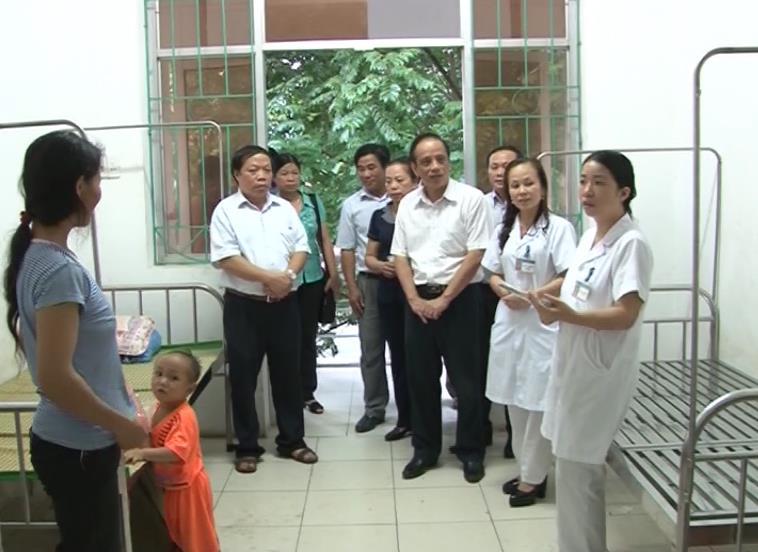 Giám sát công tác phòng chống dịch tại huyện Bảo Lâm
