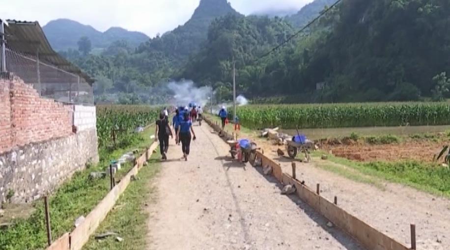 Nguyên Bình: Minh Thanh chú trọng xây dựng giao thông nông thôn