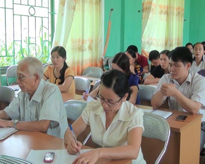 Thông Nông: Bồi dưỡng công tác Đảng cho 50 học viên