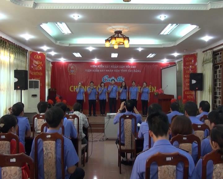 """Viện Kiểm sát nhân dân tỉnh tổ chức cuộc thi """"Chúng tôi là kiểm sát viên"""""""
