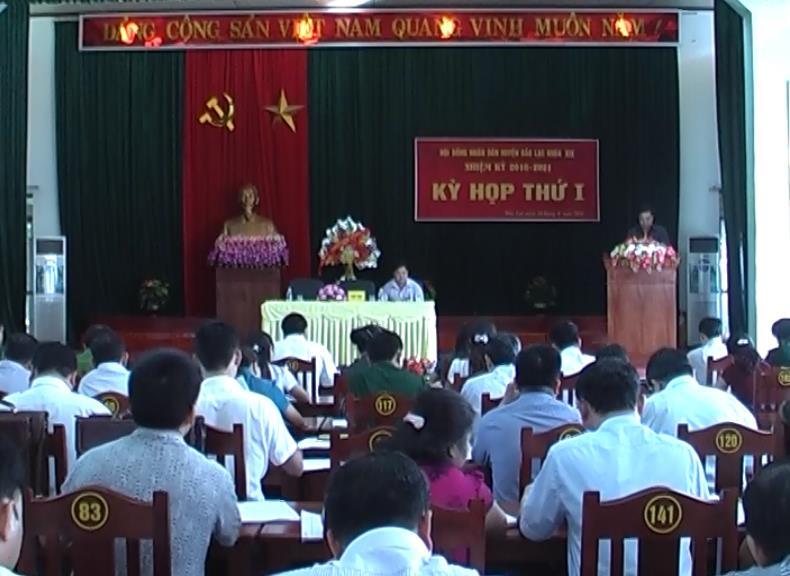 Đồng chí Công Văn Hưu tái đắc cử Chủ tịch HĐND huyện Bảo Lạc
