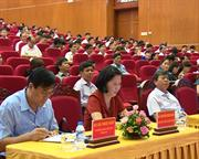 Bế mạc Hội nghị học tập, quán triệt, triển khai thực hiện Nghị quyết Đại hội XII của Đảng, Nghị quyết Đại hội XVIII Đảng bộ tỉnh.