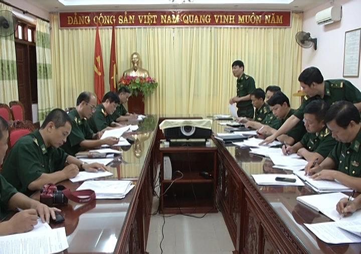 Đoàn công tác Học viện Biên phòng làm việc với Đảng ủy Bộ Chỉ huy bộ đội Biên phòng tỉnh Cao Bằng