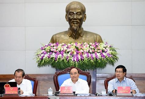Thủ tướng chủ trì phiên họp Chính phủ thường kỳ tháng 6/2016